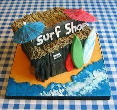 surf shop cake