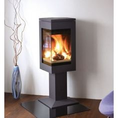 Nordpeis Quadro 1 Stove has a unique modern styling for a dramatic centre piece. The Nordpeis Quadro 1 Stove is suitable for a flat wall installation, ideal for fitting in open plan areas between two rooms.  The Nordpeis Quadro 1 Woodburning stove has a 6.2 kw nominal heat output to room but ranges from 3 - 8 kw. The Quadro 1 Stove also is Defra approved for smoke controlled areas and can be fitted with an external air kit.  Nordpeis Quadro 1 Stove features 6.2kw nominal heat output to…