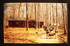 ROCKWOOD NATIONAL GIRL SCOUT CAMP TALL TIMBERS LODGE BETHESDA MD VINTAGE POSTCRD