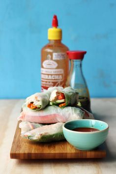 Quick & Easy Rice Paper Rolls