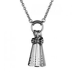 Pahanpiiskat-riipus Tassel Necklace, Pendant Necklace, Necklaces, Steel Metal, Iron Steel, Jewerly, Jewelry Making, Pendants, Gemstones