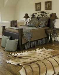 Rustic Western Bedroom Furniture and Decor from The Arrangement
