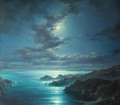 artist Dmitriev George, Night