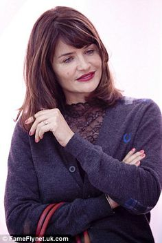 Helena Christensen at the Red is the New Black launch in Belgium