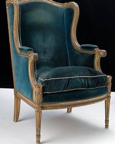 Chair Pads For Office Chairs Velvet Wingback Chair, Bergere Chair, Love Chair, Diy Chair, World Market Dining Chairs, Restaurant Tables And Chairs, Home Office Chairs, Painted Chairs, French Furniture