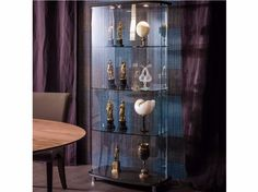 Download The Catalogue And Request Prices Of Concerto By Cattelan Italia,  Crystal Display Cabinet With