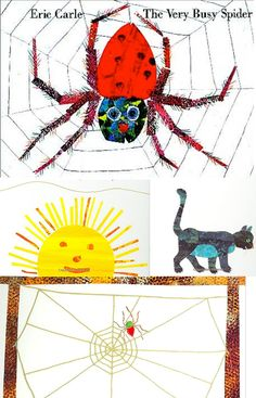 Eric Carle - The Very Busy Spider