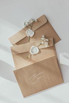 A new Era begins. Back with you shortly – invitation Wedding Stationary, Wedding Invitation Cards, Wedding Cards, Wax Seal Stamp, Wax Seals, Invitation Design, Invite, Wedding Designs, Marie
