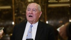 Trump To Nominate Former Georgia Gov. Sonny Perdue To Head Agriculture Department : The Two-Way : NPR