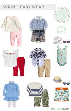 Spring Baby Clothes 2014