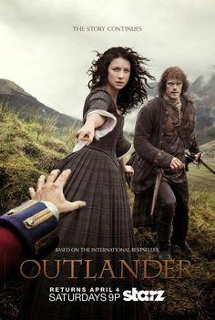 Outlander, serie de Starz basada en las novelas de Diana Gabaldon. En España a través de Movistar.: Starz publica los pósters promocionales de la segu...