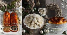 Reggelik/előételek French toast - Édes bundás kenyér karamellszósszal Márványsajtos szendvicskrém csírával Olív... Smoothie, Sausage, Christmas Crafts, Good Food, Soup, Meat, Cooking, Recipes, Kitchen