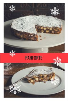 This sumptuous panforte recipe is packed with fruits and nuts, and is sure to add a little Italian glamour to your Christmas baking repertoire this year. Christmas Nibbles, Christmas Canapes, Christmas Cookies, Xmas Food, Christmas Baking, Autumn Desserts, Great British Chefs, Recipe Inspiration, Easter Recipes