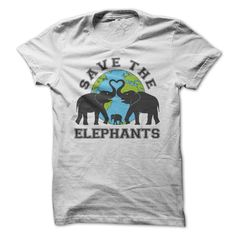 Save The Elephants T-Shirts, Hoodies. ADD TO CART ==►…