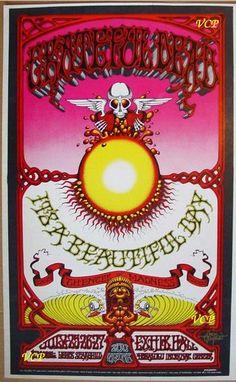 Grateful Dead - Griffin's Hawaiian Aoxo Poster, 1969
