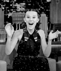 """""Millie Bobby Brown on Jimmy Fallon - October 31st, 2017. "" """