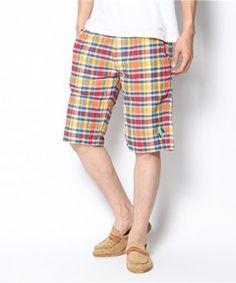 チチカカ メンズ / メンズ マドラスチェックショートパンツ(パンツ)