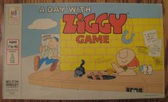 A DAY WITH ZIGGY GAME - 1977 Vintage Board Game.  www.BrassTacksEvents.com www.facebook.com/BrassTacksEvents www.twitter.com/BrassTacksEvent