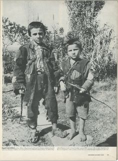 Pair of Ragged Greek Boys Made Homeless by the German Occupation During WWII Greece Photography, Greek History, Red Army, Papi, Magnum Photos, History Books, Ww2 History, World War Ii, Religion