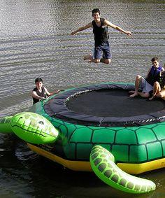 Turtle Jump Water Trampoline