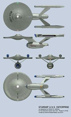 the discussed but never actually made Enterprise for the 1978 proposed project