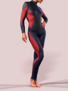Sports Bodysuit One Piece Sculpting Playsuit Shaping Women Catsuit Sexy Activewear Gym Jumpsuit Yoga Sleeves Workout Sportswear Leggings Red - Sports Bodysuit One Piece Sculpting Playsuit Shaping Women Body One, Festival Photo, Plus Size Sportswear, Look Thinner, Best Leggings, Women's Leggings, One Piece, Skin Tight, Costumes