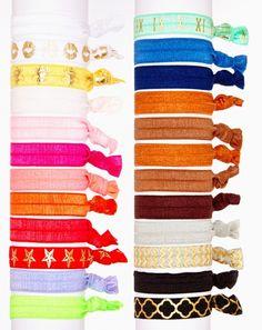 Must Have Hair Tie 24 Pack / Shop Bel Fiore: Hair Ties & Elastic Headbands