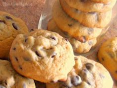 The Hen Basket: Cake Like Chocolate Chip Cookies