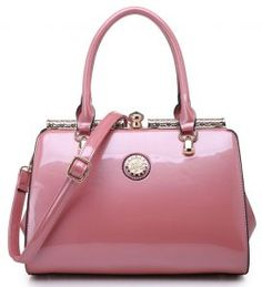 Patent Emblem Handbag £29.99