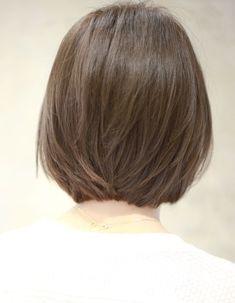 丸みのある小顔ノームコアボブ(Ss-316) | ヘアカタログ・髪型・ヘアスタイル|AFLOAT(アフロート)表参道・銀座・名古屋の美容室・美容院