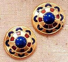 Royal Egyptian Clip Earrings | Museum Store Company gifts, jewelry and more