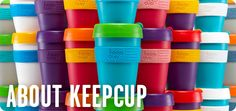 Eco Cups, Custom Coffee Cups, Eco Friendly Cups | KeepCup    absolutely my favorite cup in the world! so awesome!