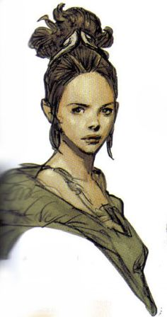 padme concept art | love to see some Leia and Padme concepts ( but in particular Padme ...