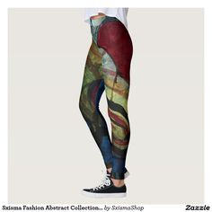 Shop Sxisma Fashion Abstract Leggings created by SxismaShop. Designer Leggings, Look Cool, Dressmaking, Things That Bounce, Cool Designs, Comfy, Suits, Cool Stuff, Costumes