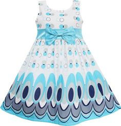 EW11 Sunny Fashion Little Girls' Dress Blue Peacock Tail Cool Summer Girls Sunny Fashion http://www.amazon.com/dp/B00KQ0JBGI/ref=cm_sw_r_pi_dp_b6Ijub04SXT2P
