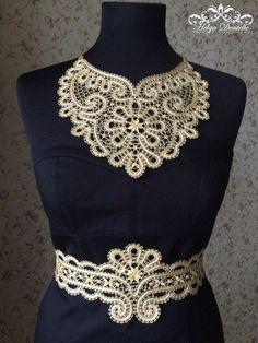 Поиск новостей Irish Crochet, Crochet Lace, Crochet Hooks, Crochet Collar, Lace Collar, Bruges Lace, Lacemaking, Point Lace, Lace Jewelry