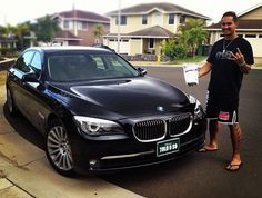 """""""Crushing Obesity, Driving one of my dream vehicles!"""" - Sam Kapoi"""