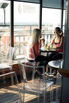 Atelje Roof Top Bar in Helsinki by Visit Finland (Photo: Elina Sirparanta), via Flickr