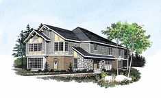 Eplans Craftsman House Plan - Casual Living - 2316 Square Feet and 4 Bedrooms(s) from Eplans - House Plan Code HWEPL00464