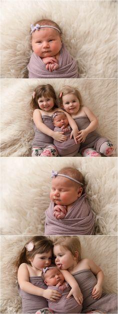 Newborn Photography Props, Newborn Photographer, Photography Ideas, Matching Pjs, Baby Sister, Three Kids, Baby Girl Newborn, Siblings, Lifestyle