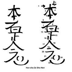 Reiki Symbolen
