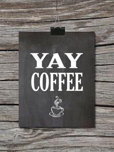 Yay Coffee / Coffee Shop Stuff