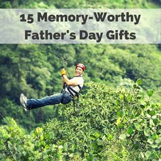 This year, forget the tie—and use your hard-earned cash to buy Dad an experience he can really savor. Here, gifts dad can do.