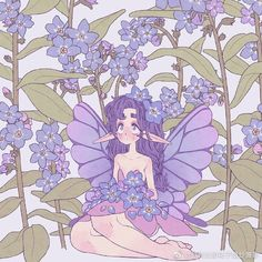 Different Drawing Styles, Character Design Inspiration, Character Ideas, Kawaii Art, Fairy Art, Mythical Creatures, Drawing Reference, Cute Art, Art Inspo