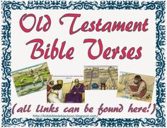 Old Testament Bible Verses