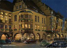postcard - Hofbrauhaus Munich by Jassy-50, via Flickr