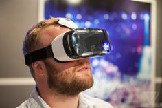 This.. has to get smaller, a lot smaller... Samsung's Gear VR is a portable Oculus Rift for the Galaxy Note 4 | The Verge