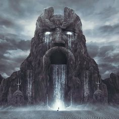 Tower of the Archmage: Sunday Inspirational Image: Gates of Atlantis