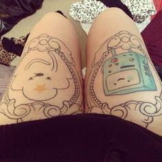 Tatuagens+do+desenho+Hora+de+Aventura+|+Tinta+na+Pele