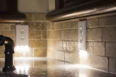 Pathway lighting that requires no batteries or wiring. #1 Nightlight in history.   #SnapPower #Nightlight #DIY #Easy #Saveforlater #Homeimprovement